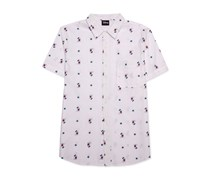 Disney Men's Mickey Mouse Shirt, White