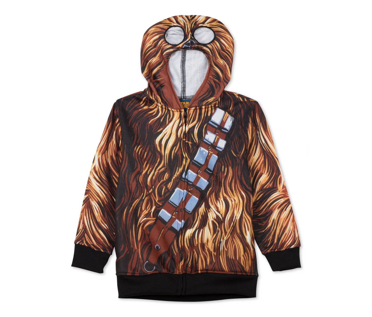 Star Wars Little Boys Chewbaccca Hoodie,Brown