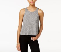 Bar III Marled Tank Top, Heather Grey