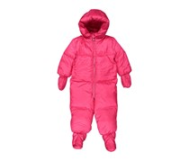 Ralph Lauren Baby Girls' Quilted Down Snowsuit, Pink