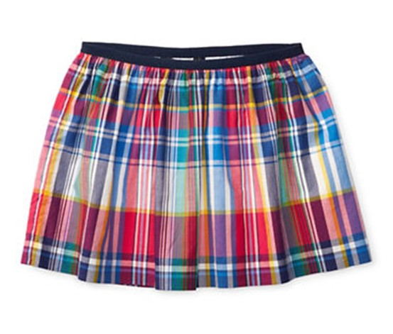 Ralph Lauren Plaid Skirt, Pink/Green/Blue