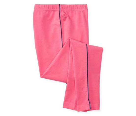 Lauren Ralph Shop Girls' Piped LeggingsPink Polo For xrBoeQdWC