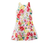 Ralph Lauren Floral Patterned Dress, Multicolor