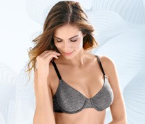 Women's Underwired Bra, Anthracite Melange