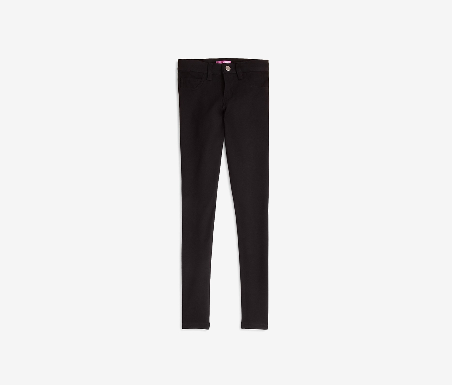 Girls' Ponte Pants, Black