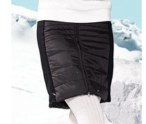 Women's Quilted Skirt, Black