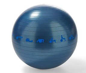 Gymnastic Ball, 65 cm, Blue