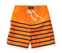 Ralph Lauren Sanibel Twill Swim Trunk, Bright Signal Orange