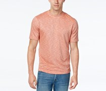 Tasso Elba Performance Crew Neck Shirt, Flame Combo