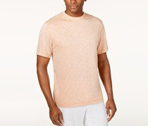 Tasso Men's Space-Dye T-Shirt, Honey Peach Combo