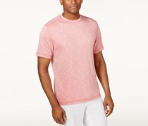 Tasso Elba Men's Space-Dye T-Shirt, Slate Rose Combo