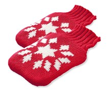 Pocket Heat Pads,  Pink/White Motif with Flakes