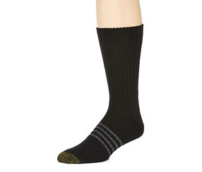 Gold Toe Outlast Fluffy Socks, Black