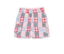 Boboli Little Boys Printed Short, Red/Blue