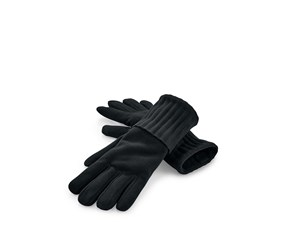 Micropolar Gloves, Black