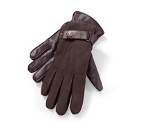 Men's Leather Gloves, Brown