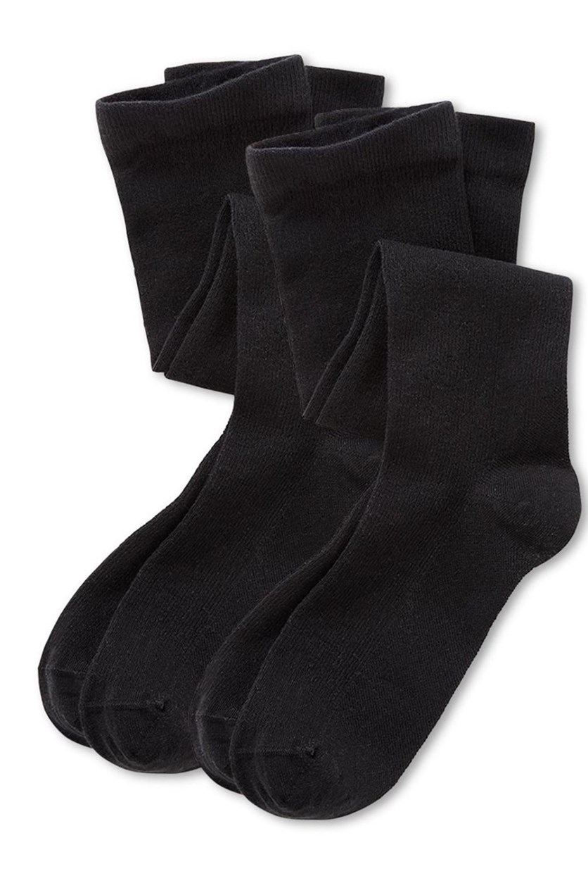 Men Supporting Knee Socks, Black