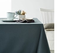 Tablecloth Jacquard, 150 x 275 cm, Anthracite