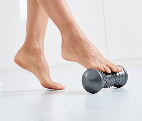 Foot Massage Roller, Dark Grey