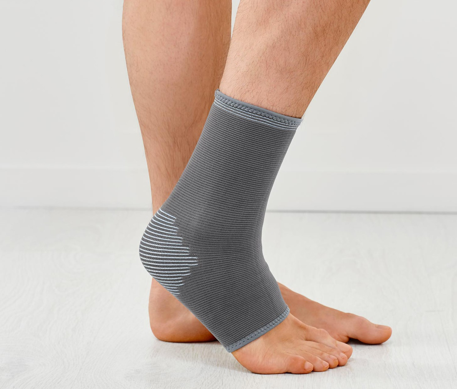 Men Ankle Bandage, Grey