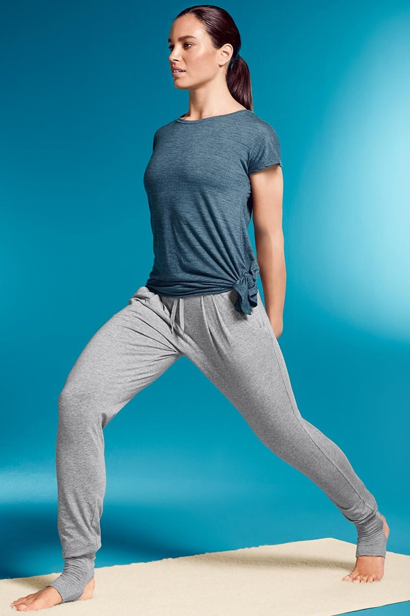 Women's Yoga Trouser, Heather Gray