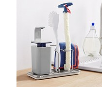 Dishwasher Holder Stainless Steel, Grey