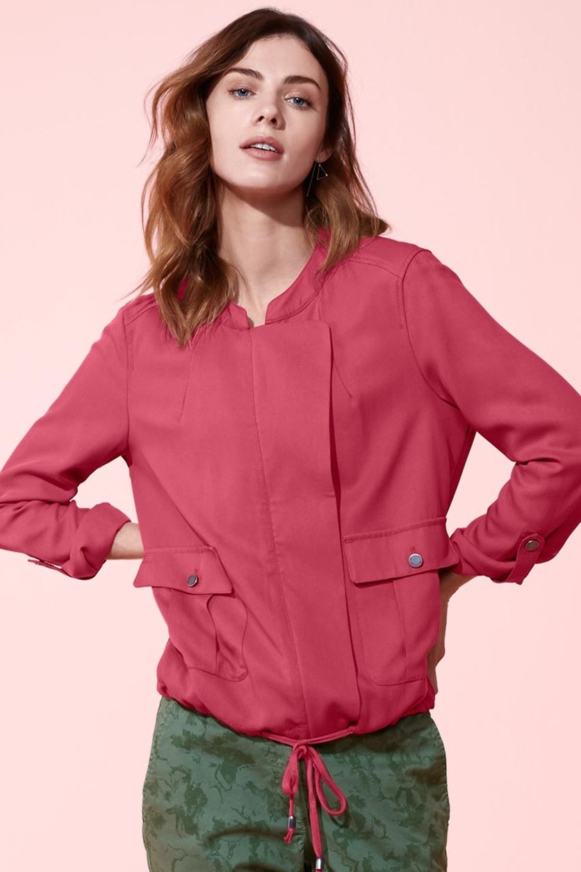 Ladies Blouson Jacket, Pink