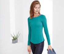 Women Wellness Shirt, Aqua