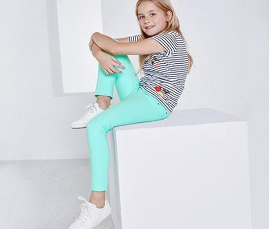 Girl's Treggings, Mint