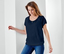 Short Sleeve T-Shirt, Navy Blue