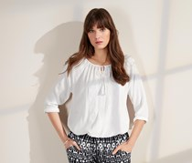Women's Tunic Top, White