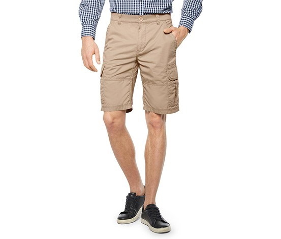 Men's Cargo Bermuda Short, Beige