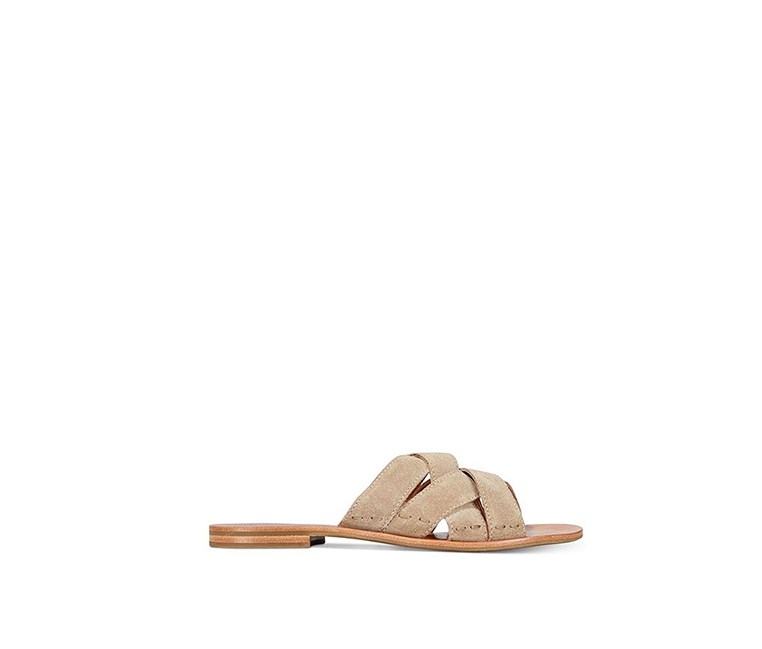 Women's Carla Crisscross Slide Sandals, Ash