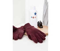 Girls Fleece Gloves, Bordeaux