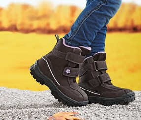 Toddler Girls Thermo Boots, Brown
