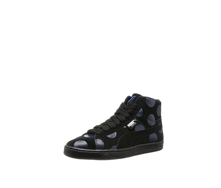 Men's States Mid X Vashtie Pois Sneakers, Black