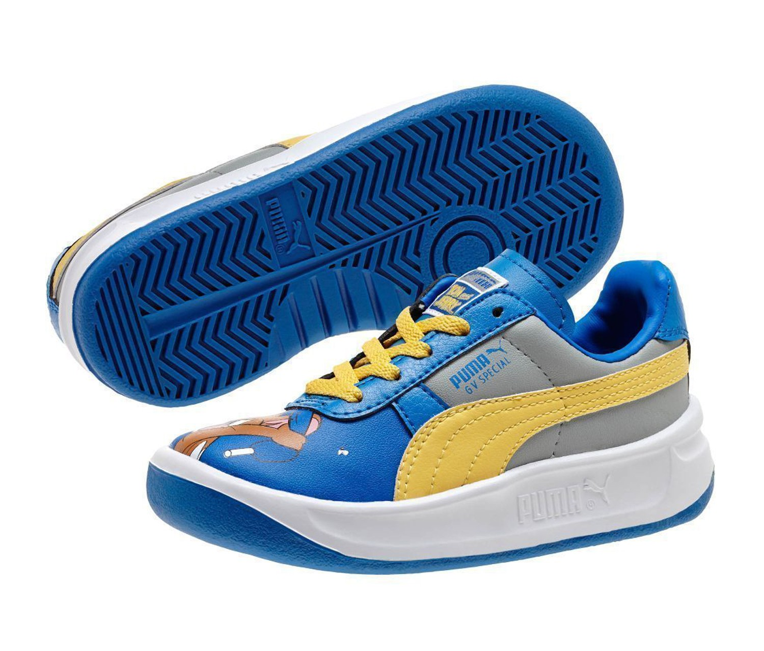 Shop Puma Baby Boy's Puma GV Special Tom & Jerry, Blue for