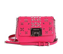 Michael Kors Tina Small Clutch, Ultra Pink
