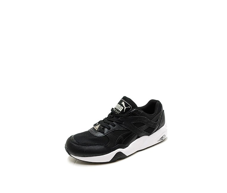 Men's R698 Breathe Sneakers, Black/White