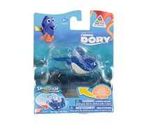 Disney Bandai Finding Dory Mr.Ray Swigglefish, Blue/White