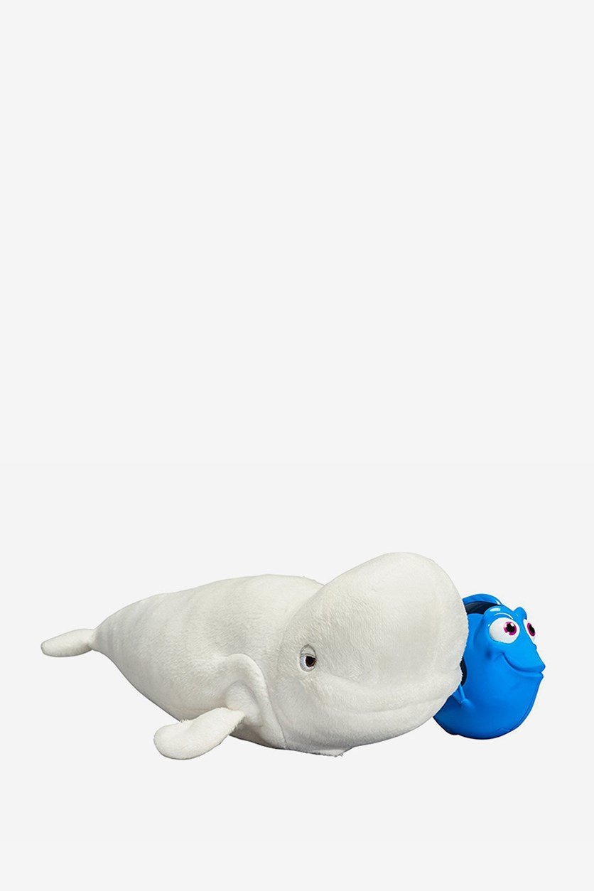 Finding Dory Echo Location Bailey & Dory Plush, White/Blue