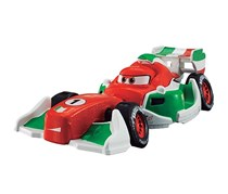 Hatch 'n Heroes Cars Francesco Transforming Figure, Green/White/Red