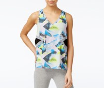 Jessica Simpson The Warm Up Juniors' Printed Tank Top, Paradise