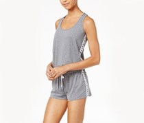 Jessica Simpson The Warm Up Juniors' Romper, Harvard Grey
