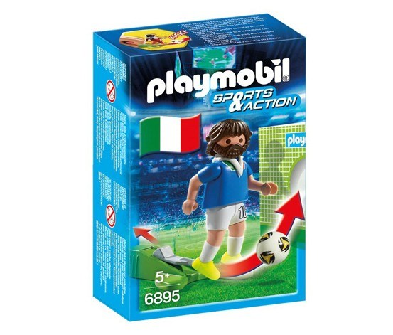 Action Sport: Football Player Italia