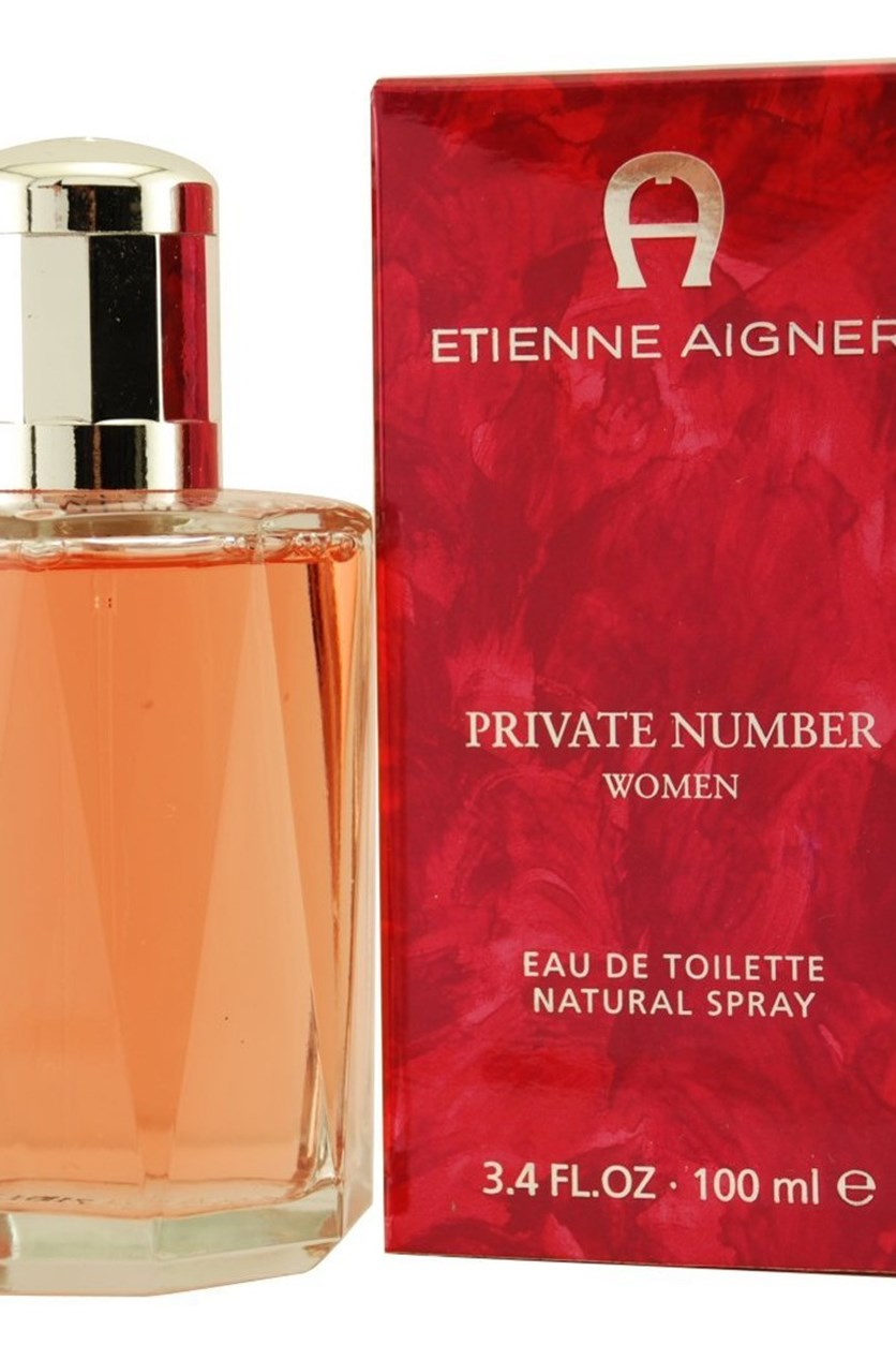 Private Number EDT Spray for Women, 3.4 oz
