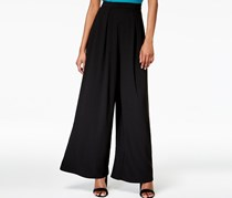 Bar III Wide-Leg Pants, Black