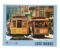 Big Ben Land Marks 500 Piece Jigsaw Puzzle By Sure-Lox, Blue
