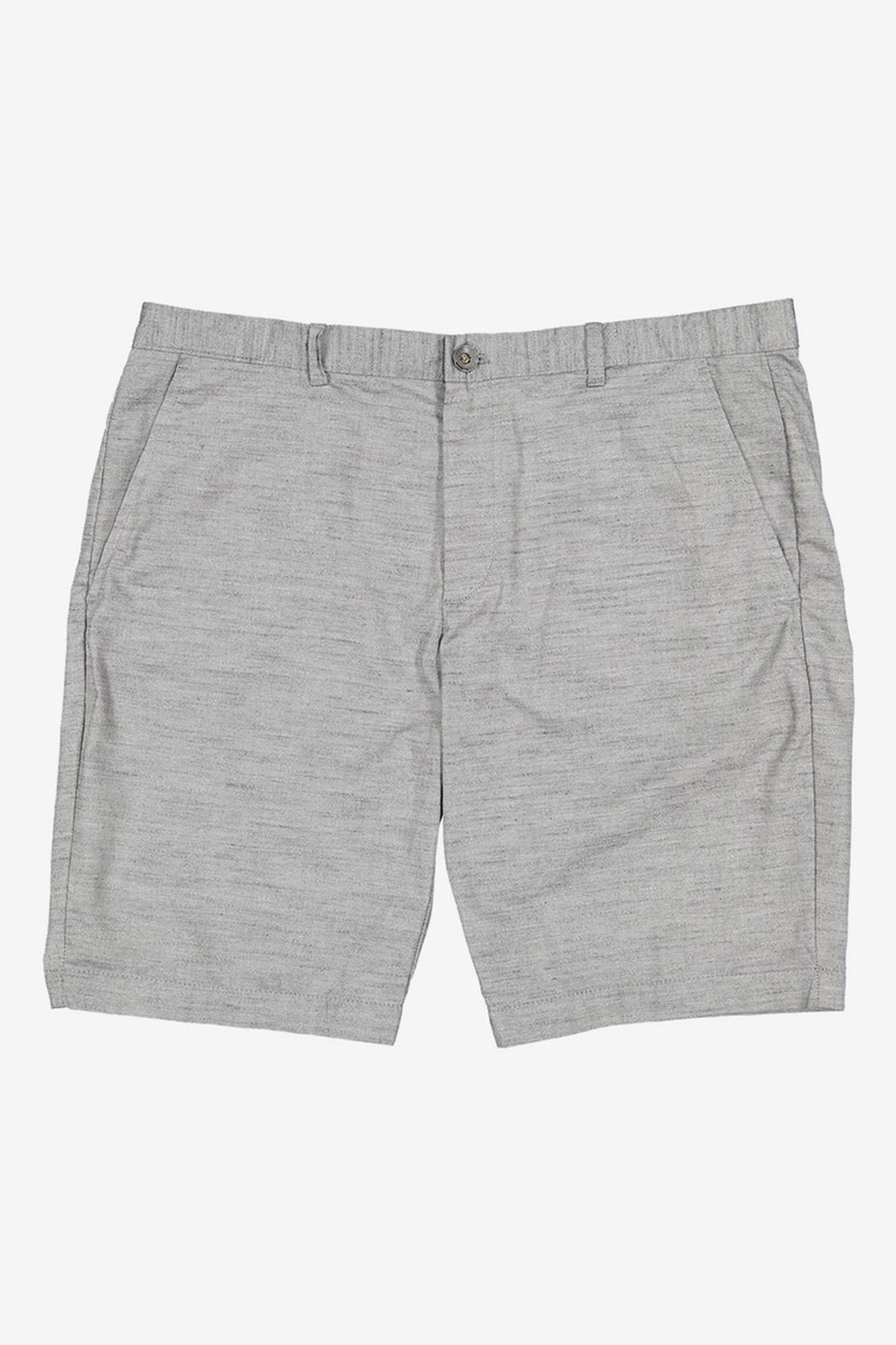Mens Slim-Fit Shorts, Charcoal