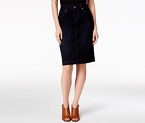 Style & Co. Denim Skirt, Dark Blue